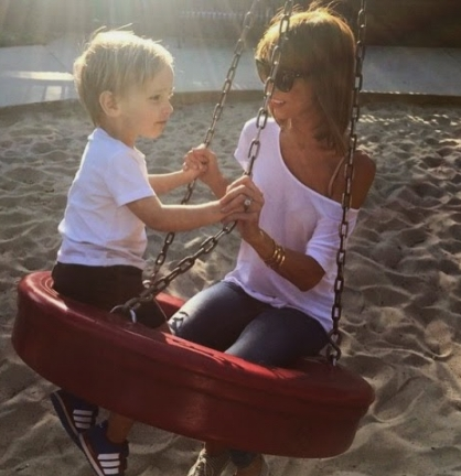 Photos: Skinny Giuliana Rancic Is Almost The Same Size As Her 2-Year-Old Son