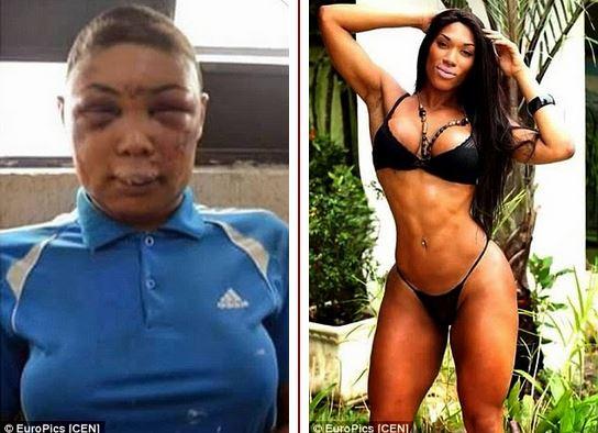 transgender lover beaten by cop