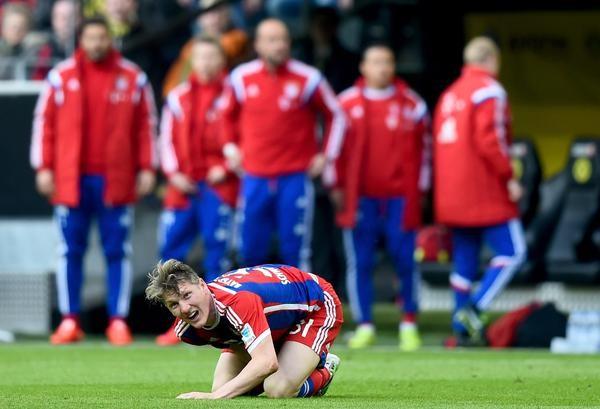Schweinsteiger Unavailable for Leverkusen Game. Image: Getty.