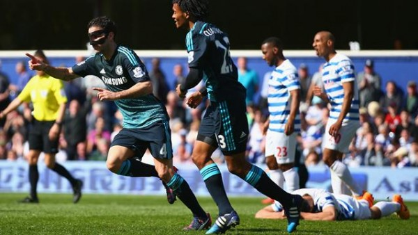 Cesc Fabregas' Match-Winner Sends Chelsea 7 Points Clear at the Top of the EPL Standings. Image: Getty.