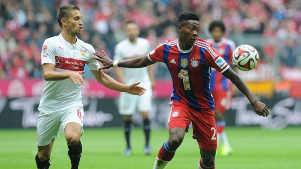 David Alaba Possibly Out for the Rest of the Season after Tearing His Knee Ligaments. Image: Getty.