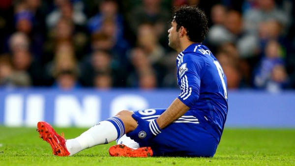 Diego Costa Did Not Return for the Final Four Games of Last Season, Despite Mourinho Envisaging Such Earlier. Image: Getty.