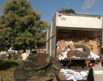 INEC Truck