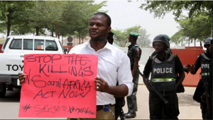 Anti-Xenophobia Protest