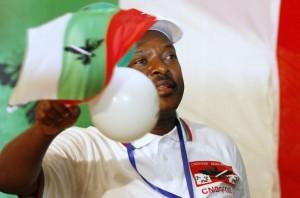 Burundi's President Nkurunziza attends ruling CNDD-FDD party congress in the capital Bujumbura
