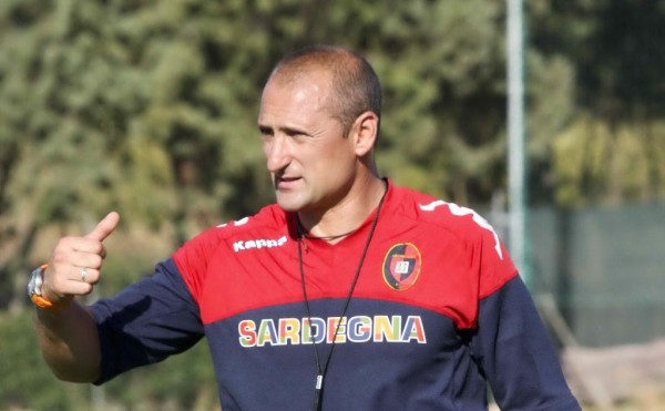 Gianluca Festa is Cagliari's Third Coach in the Space of Four Months. Image: Getty.