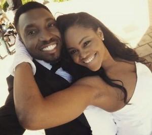 Timi Dakolo and wife Busola celebrate their 3rd wedding anniversary