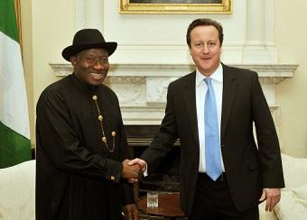 Nigerian President visits UK