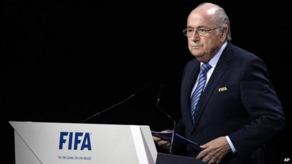 Sepp Blatter Has Announced He Will Stand Down as FIFA President at February's Extraordinary Congress. Image: Getty.