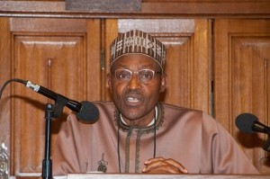 Retired Nigerian General Buhari attends African Diaspora Conference