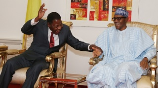 Muhammadu Buhari and Boni Yayi
