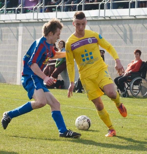 Tim Nicot Playing for Beerschot Wilrijk. Image: Beerschot Wilrijk.