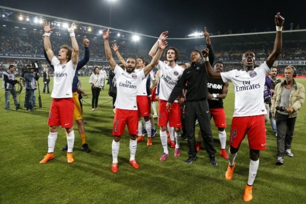 PSG Win Ligue Un for a Third a Straight Time. Image: Twitter via @PSG_English.