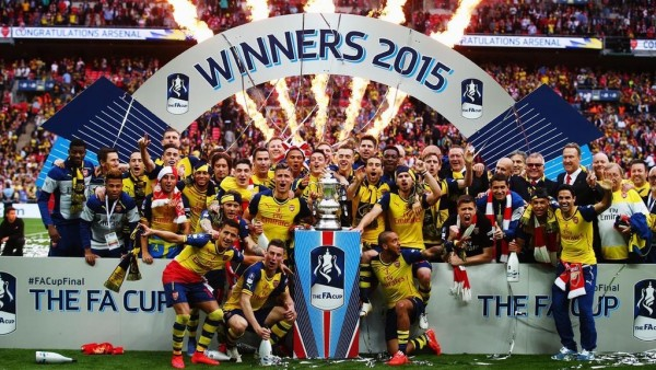 Arsenal Win the English FA Cup for a Record 12 Time With Victory Over Aston Villa. Image: PA.