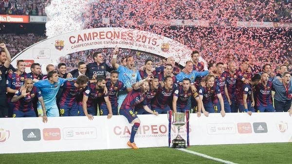 Barcelona Have Now Won the King Cup 27 Times. Image, Miguel Ruiz/ FC Barca.