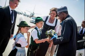 Buhari in Germany3