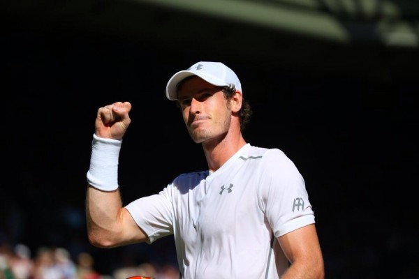 Andy Murray Through to the Second Round of Wimbledon. Image: AELTC.