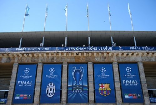 Berlin's Olympiastadion is Well Laid for the Champions League Final Between Juve and Barca. Image: Getty.