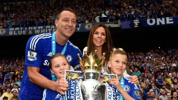 Captain John Terry Celebrates With the Premier League Trophy after Last Season's Triumph. Image: Getty.