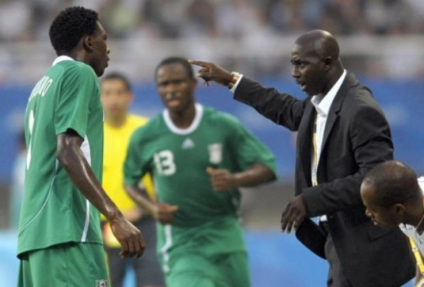 Coach Samson Siasia Looking Forward to the Crucial Game against Congo in Pointe-Noire.