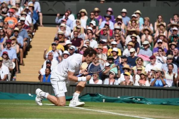 Andy Murray Advances to Wimbledon Last 8. Image: AELTC.