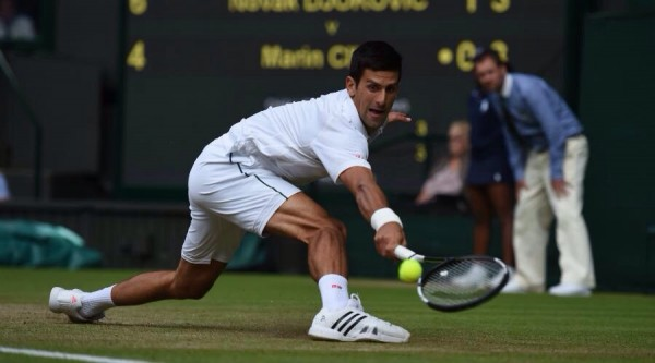 Novak Djokovic Secures His 650th Tour Match Win With Victory Over Marin Cilic. Image: AELTC.