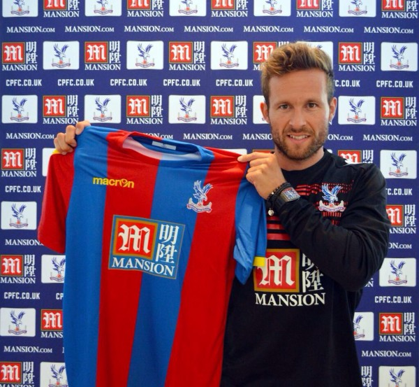 Yohan Cabaye Completes Crystal Palace Switch. Image: CPFC.