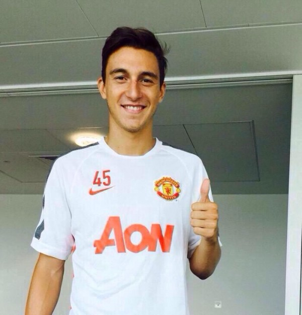 Matteo Darmian Delighted to Join Manchester United. Image: Getty.