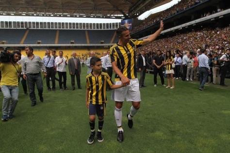Robin Van Persie Svored 58 Goals for Man United Between 2012 and 2015. Image: Fenerbahce.