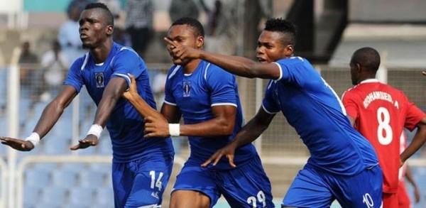 Sunshine Stars Lead the 20-Team Glo Premier League Table after 19 Matches. Image: LMC.