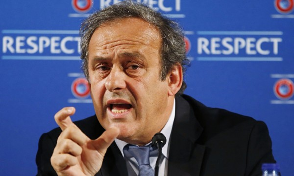Michel Platini Announces FIFA Candidacy Bid on Wednesday, 29 July, 2015. Image: Getty.