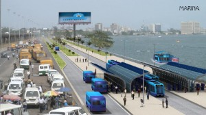 projected view of Lagos light rail after completion source:nigerianbulletin.com