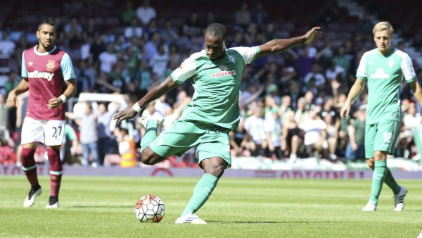Anthony Ujah Joined Werder Bremen from FC Cologne in the 2015 Close Season. Image: Getty.