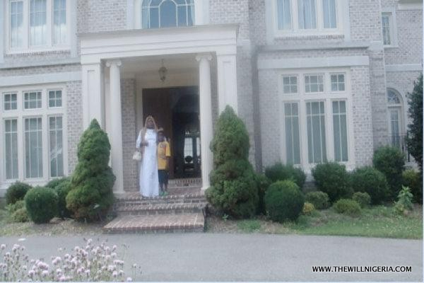 Glen Road Potomac, Maryland residence of the Audu's. Former governor reportedly paid $1.7m in cash