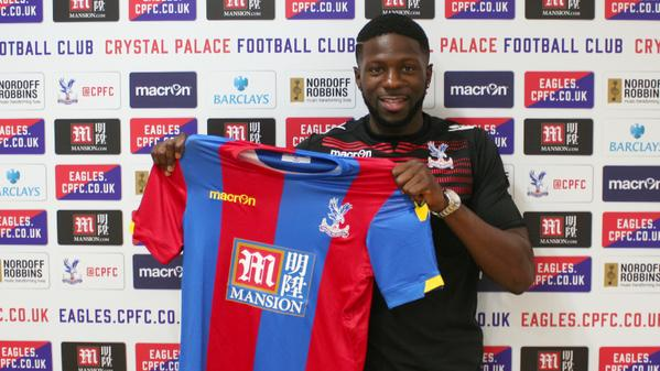 Bakakry Sako Joins Crystal Palace on a Free Transfer. Image: twitter/ CPFC