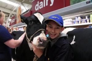 Cows-visit-supermarket-for-milk-price-protest