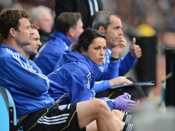 Chelsea Team Doctor, Eva Carneiro, Has Not Been Gracing Chelsea Matches after Eden Harzard On-Pitch Treatment Saga. Image: PA.