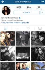 Reality-star-Kim-Kardashian-s-instagram-page