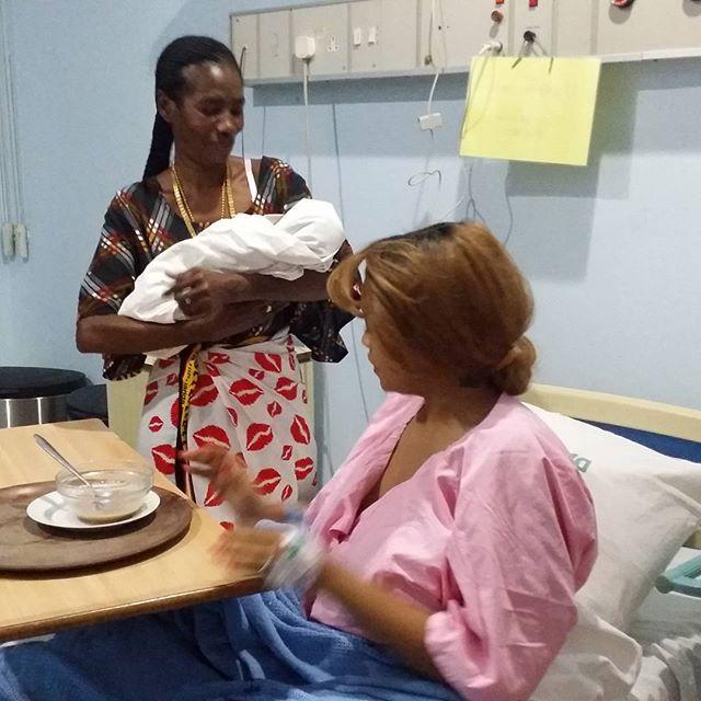 Diamond Platnumz Welcomes Baby Girl With Girlfriend [PHOTO