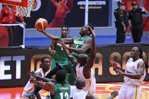 D'Tigers Have Won all Two of Their Matches at the 2015 Afrobasket. Image: twitter/NigeriaBasket