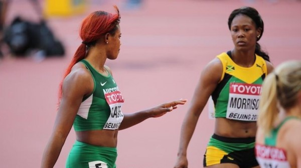 Blessing Okagbare Eyeing a Podium Finish at 2015 IAAF world Championships in the Women's 100m.