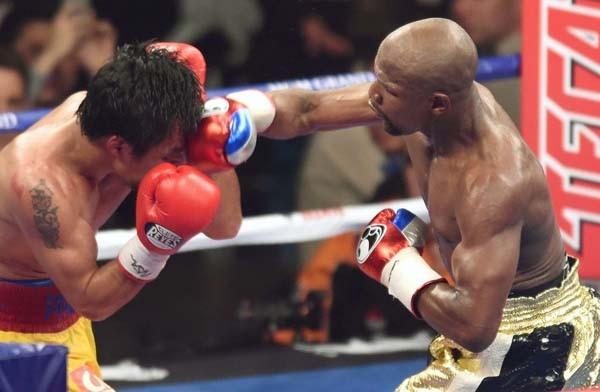 Mayweather Eyeing Rocky Marciano's Record in September Fight against Beto. Image: Riki Fukuda/ FightNews.