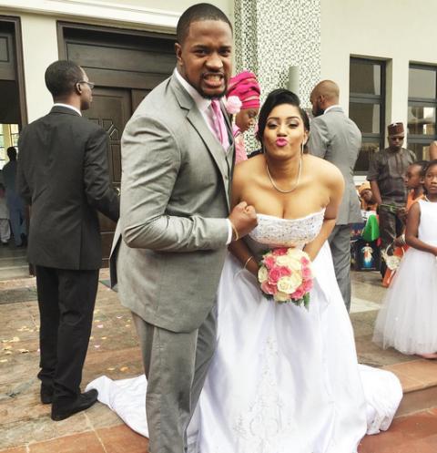 Photos From Actor Mofe Duncan S Church Wedding Today