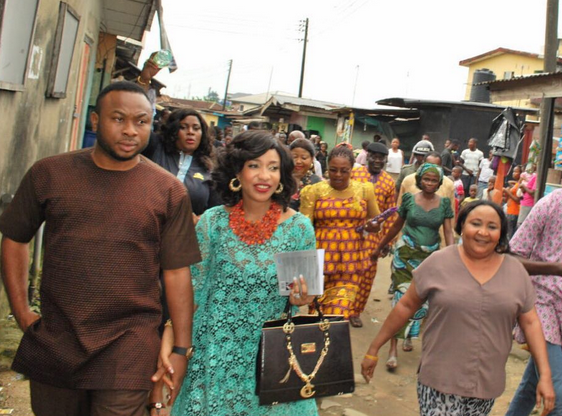 Photos From Pregnant Tonto Dikeh S Marriage Introduction