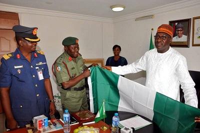 DDI-Colonel Rabe Abubakar-DG NOA-Mike Omeri