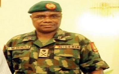 JTF Commander, Maj.-Gen. Alani Okunlola