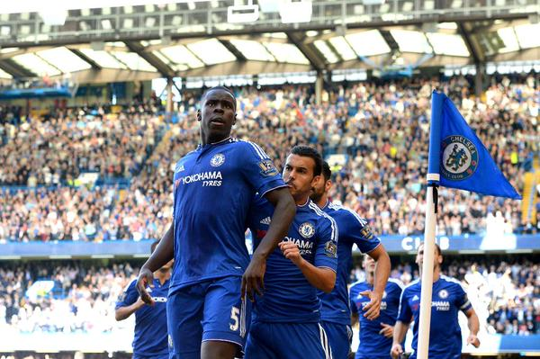 "Kurt Zouma Says He is ""Sorry"" for Calling Costa a ""Cheat."" Image: Getty via Chelsea."