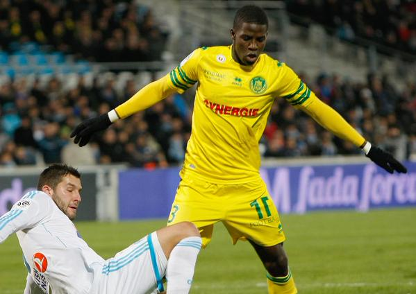 Papy Djilobodji Joins Chelsea from Nantes. Image: Getty via CFC.