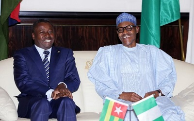 Presidents Faure Gnassingbe-Muhammadu Buhari