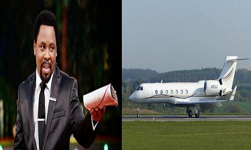 T.B Joshua-Private Jet